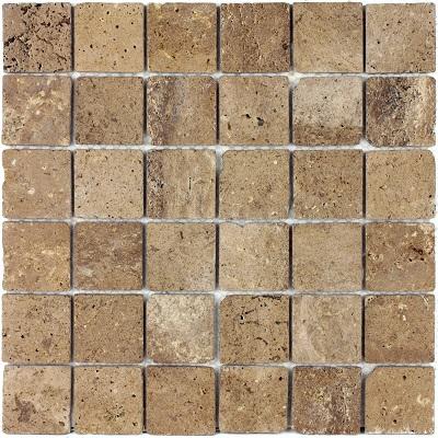 Travertino Brown MAT 48x48