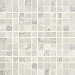 Mosaico Silver Glitter